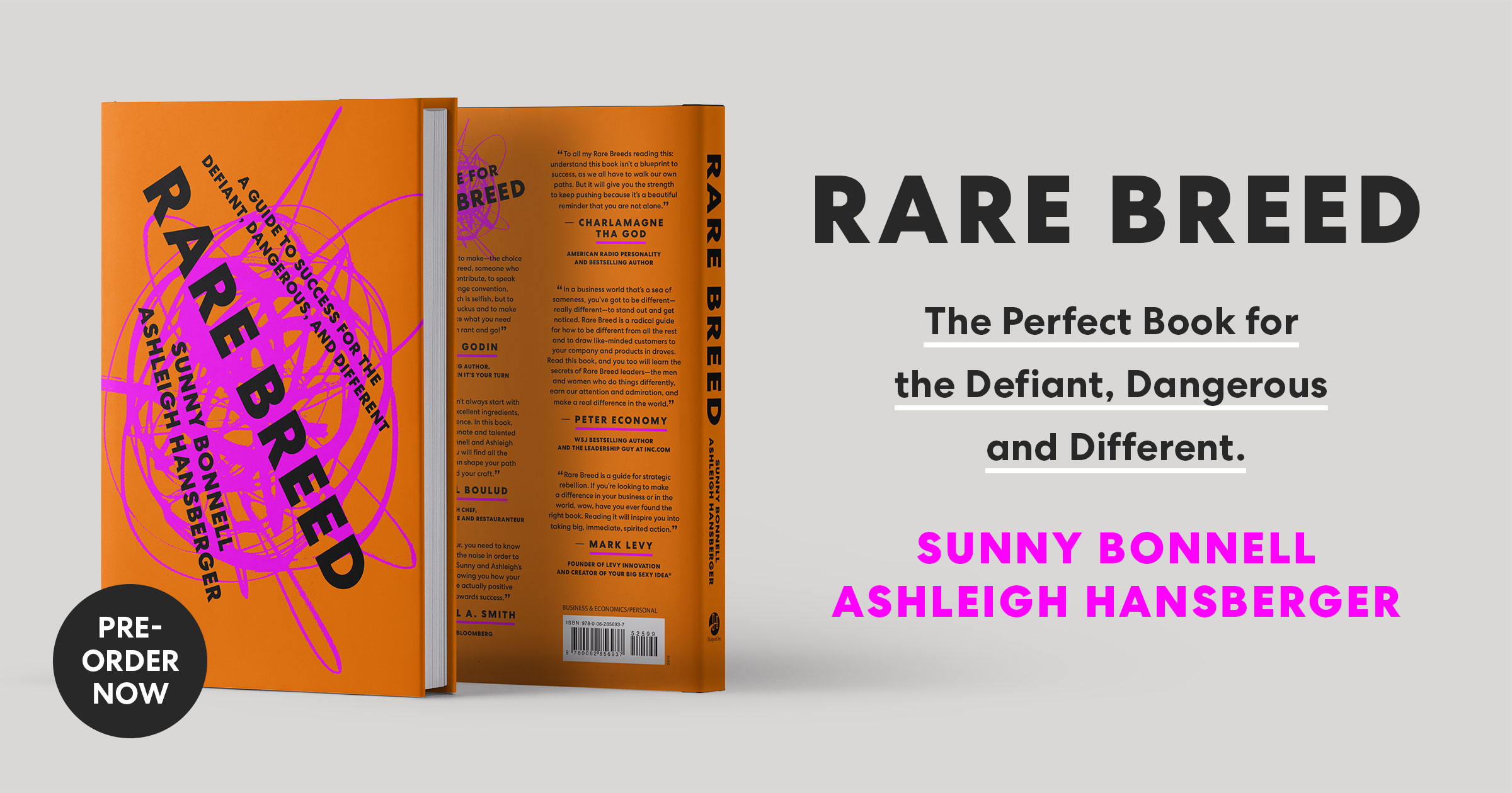 Rare Breed a guide to success for the defiant dangerous and different by Sunny Bonnell & Ashleigh Hansberger